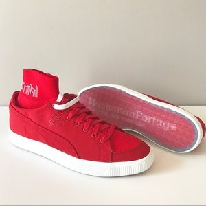 Puma x Manhattan Portage Red Clyde sock sneaker 9